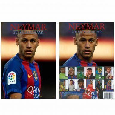 NEYMAR Jnr (Brazil & FC Barcelona) 2018 Soccer Calendar