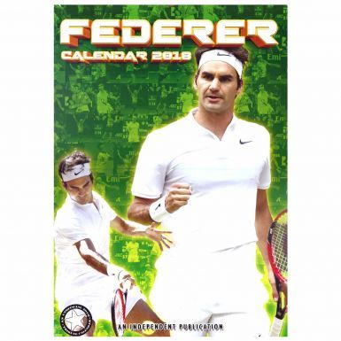 Roger Federer Tennis Legend A3 2018 Calendar (Full Colour)
