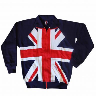 Union Jack Flag Zipped Jacket (Adults/Unisex)