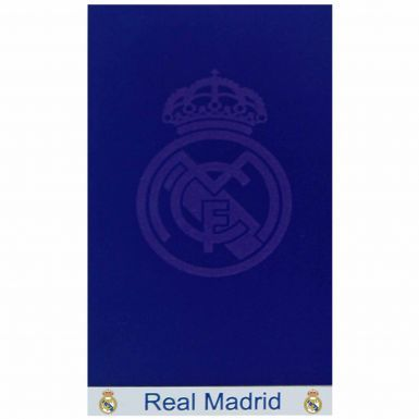 Giant Real Madrid Crest Velour Towel (160cm x 80cm)