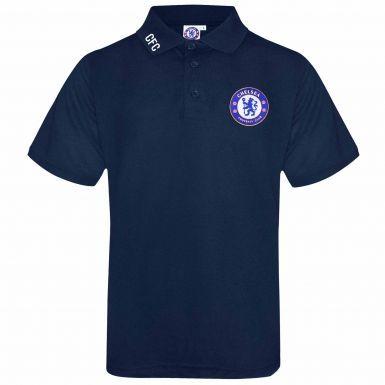 Official Chelsea FC Crest Leisure Polo Shirt