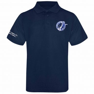 Millwall Lions Embroidered Crest Polo Shirt