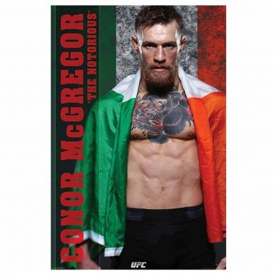 Fighting Irish Beanie Hat & Notorious Conor McGregor UFC Poster Gift Set
