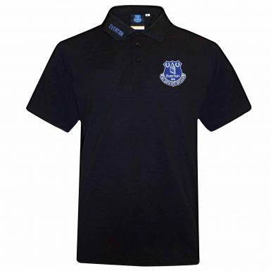 Official Everton FC Crest Polo Shirt (Adults)