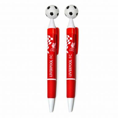 Official Liverpool FC Pencil Case & 2 Pen Set