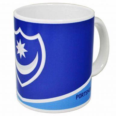 Official Portsmouth FC Crest Ceramic 11oz Mug