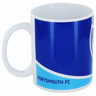Official Portsmouth FC Crest Ceramic 11oz Mug