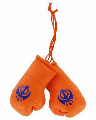 Sikh Khanda Bronx Hat & Mini Boxing Gloves Gift Set