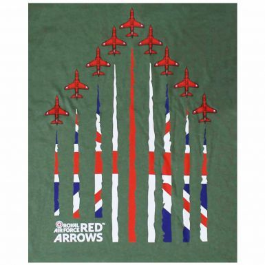 Official RAF Red Arrows Diamond Nine T-Shirt