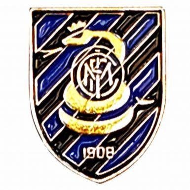 Inter Milan Soccer Crest Pin Badge