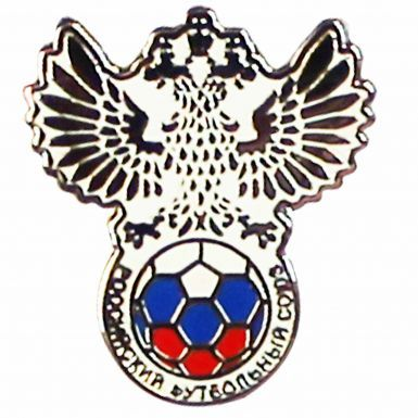 Russia Football Crest Pin Badge