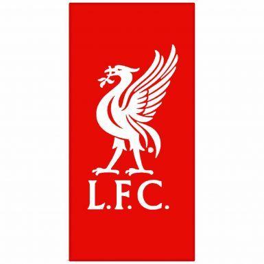 Official Liverpool FC Crest Beach Towel