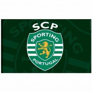 Giant Sporting Lisbon Soccer Crest Flag
