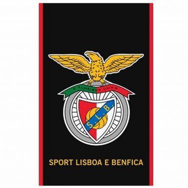 Official SL Benfica Soccer Crest Beach Towel