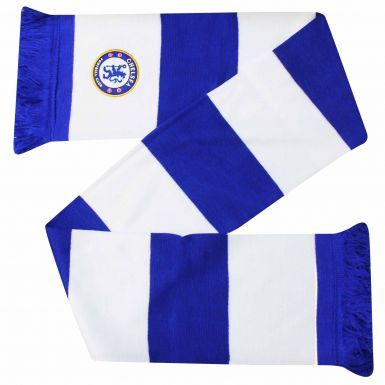 Chelsea FC Embroidered Crest Bar Scarf