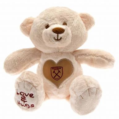 Official Plush West Ham United Love & Hugs Teddy Bear