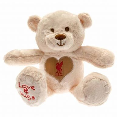 Plush Liverpool FC Hugs Teddy Bear
