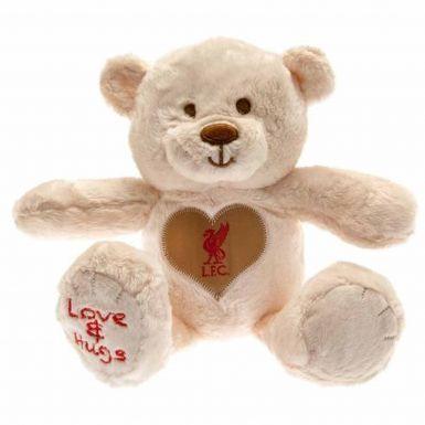 Plush Liverpool FC Hugs Teddy Bear