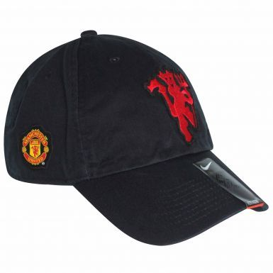 Manchester United Crest Baseball Cap by Nike