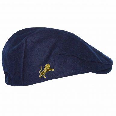 Millwall Lions Crest Woollen Flat Cap