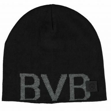 BVB Borussia Dortmund Crest Winter Beanie Hat