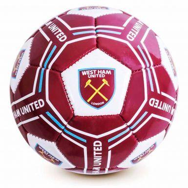West Ham United Football Ball (Size 5)