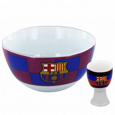 FC Barcelona Breakfast Bowl & Egg Cup