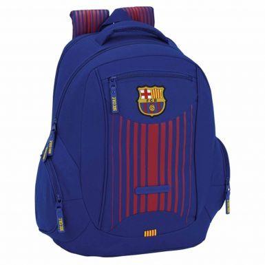 Official FC Barcelona Striped Crest Backpack