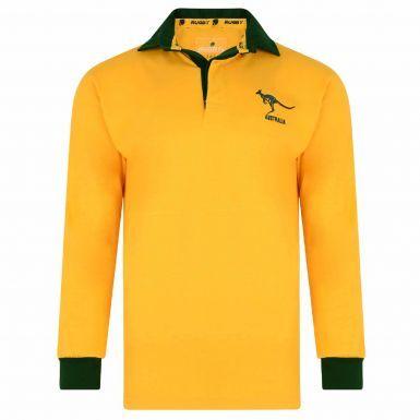 Australia Wallabies Rugby Shirt (Premium Cotton)