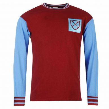 Official West Ham United 1966 Classic Retro Shirt