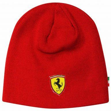 Official Scuderia Ferrari Beanie Hat by Puma