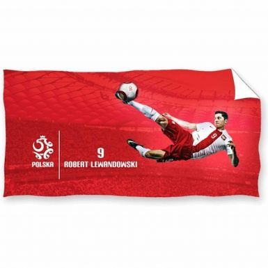 Robert Lewandowski (Polska & Bayern Munich) Bath Towel