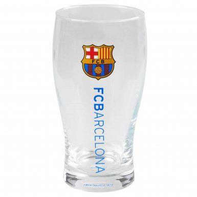 Official FC Barcelona Crest Pint Glass