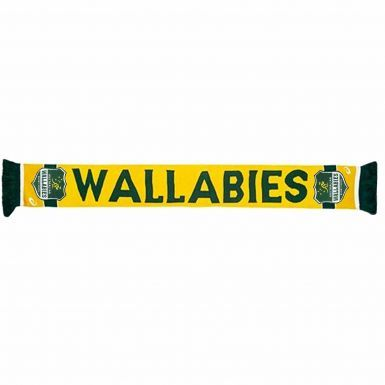 Official Australia Wallabies Rugby Scarf by ASICS
