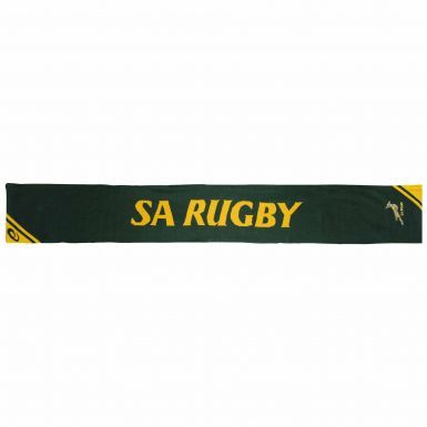 Official South Africa Springboks Rugby Scarf by Asics