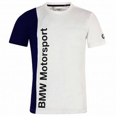 Official BMW Motorsport F1 Racing T-Shirt by Puma