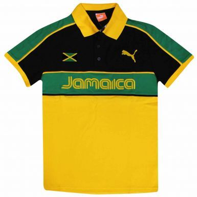 Official Jamaica Polo Shirt by PUMA (Adults)