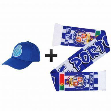 FC Porto Ultimate Football Fans Cap & Scarf Set