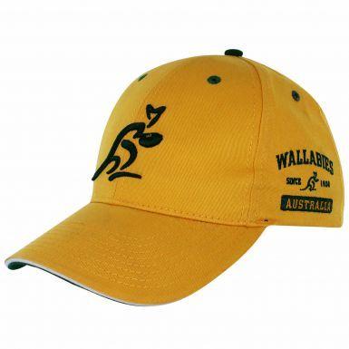 Official Australia Wallabies Rugby Baseball Cap by ASICS