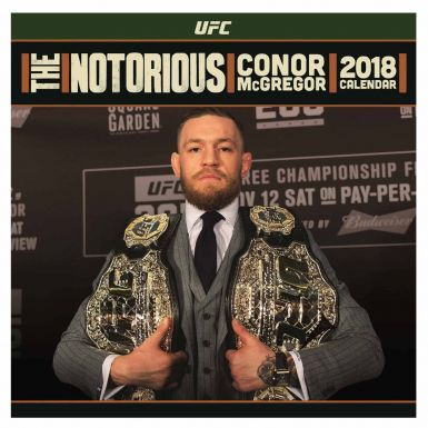 Official Notorious Conor McGregor 2018 Calendar