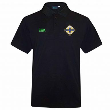 Official Northern Ireland Crest Leisure Polo Shirt