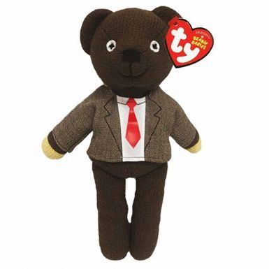 Official Mr Bean's Teddy (Beanie Bear by Ty) With Jacket (25cm)