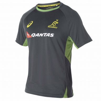 Australia Wallabies Rugby Training Shirt by ASICS