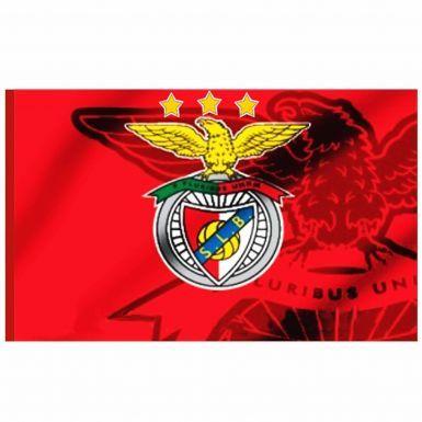 Giant SL Benfica Soccer Crest Flag (142cm x 90cm)