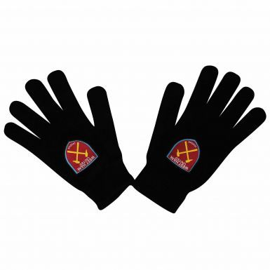 Adults West Ham United Crest Winter Gloves