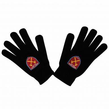 Adults West Ham United Crest Winter Gloves