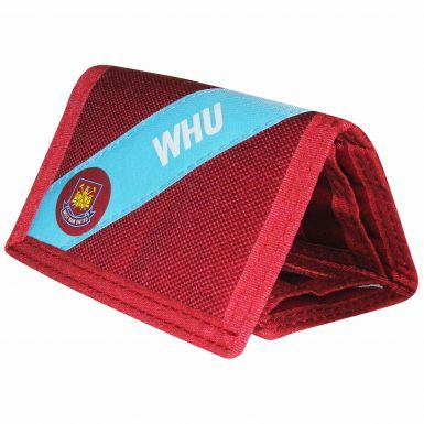West Ham United Nylon Money Wallet