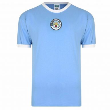 Man City Retro Shirt