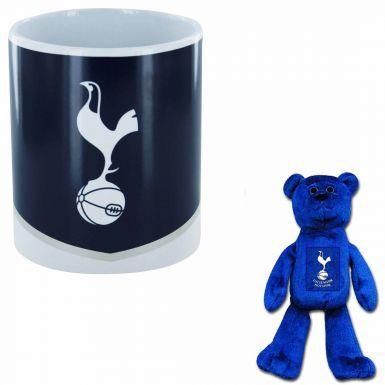 Tottenham Hotspur (Spurs) Mug & Beanie Bear Set