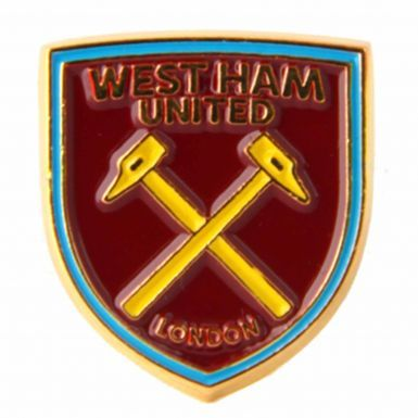 Official West Ham United Crest Pin Badge